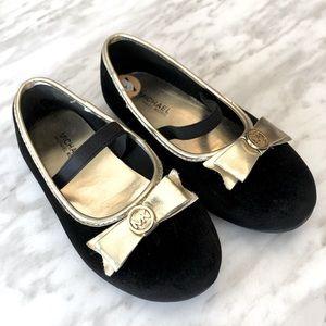 Michael Kors Little Girls Velvet Dress Shoes